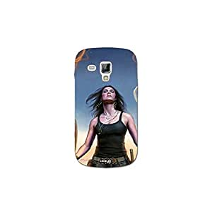 Funda carcasa Case niña Llamas para Samsung Galaxy Trend Plus GT-S7580