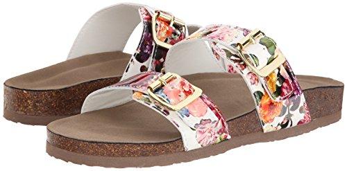 887865298632 - Madden Girl Women's Brando Flip Flop, White/Multi, 7.5 M US carousel main 5