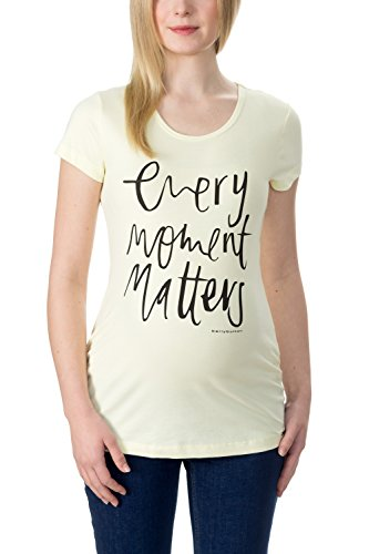 Bellybutton Danielle - T-shirt 1/4 Arm - Camiseta Mujer Gelb (tender Yellow 4040)