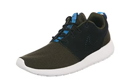 Nike Men's Rosherun Dark Loden/Blk/Drk Ldn/Mid nTrq Running Shoe 10 Men US