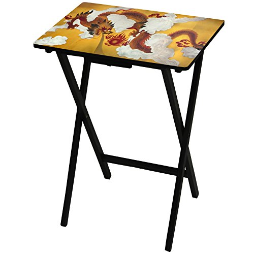 Oriental Furniture Dragon in The Sky TV Tray by ORIENTAL FURNITURE