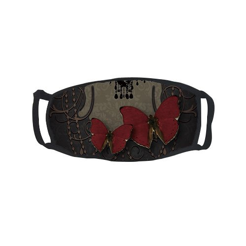 Promini Fashion Red Butterflies Accessory Adult Fashion Comf