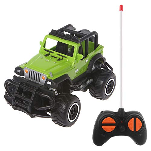 bromrefulgenc Intelligence Toy for Toddler,Mini Car Kids Toy with 4 Channels Fast Speed Racing Off-Road Car RC Electric Vehicle