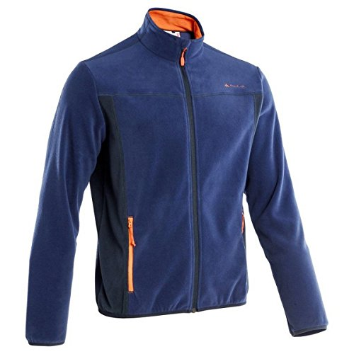 QUECHUA-FORCLAZ-200-MENS-FLEECE-BLUE