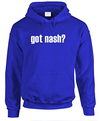 GOT NASH? - Mens Pullover Hoodie, M, Royal