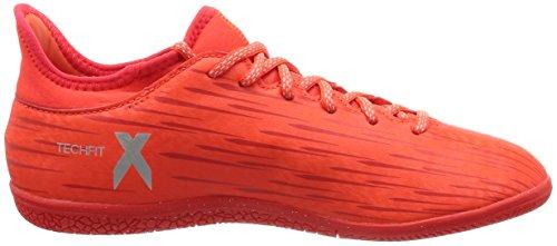 Orange Silver Red Metallic X Hi Red Naranjafluor 3 Fußballschuhe 16 Herren Solar adidas in Argento res 18H4Hq