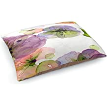 DiaNoche Dog Pet Beds by Dawn Derman Pansy Fall