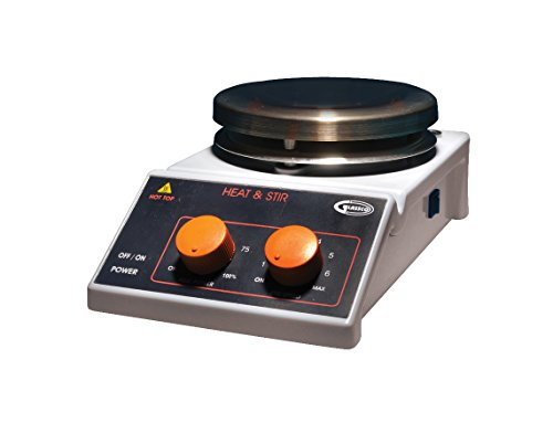 (United Scientific HPLATE-A Laboratory Analog Hot Plate Magnetic Stirrer, 50 to 1700 RPM Speed Range)