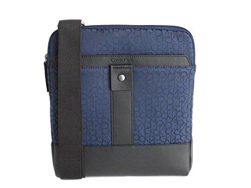 Calvin Klein - Bolso al hombro de Material Sintético para hombre Azul azul oscuro