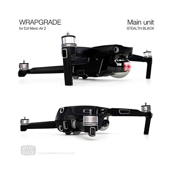WRAPGRADE Main Unit Skin Compatibile con Mavic Air 2 (Stealth Black) 4 spesavip
