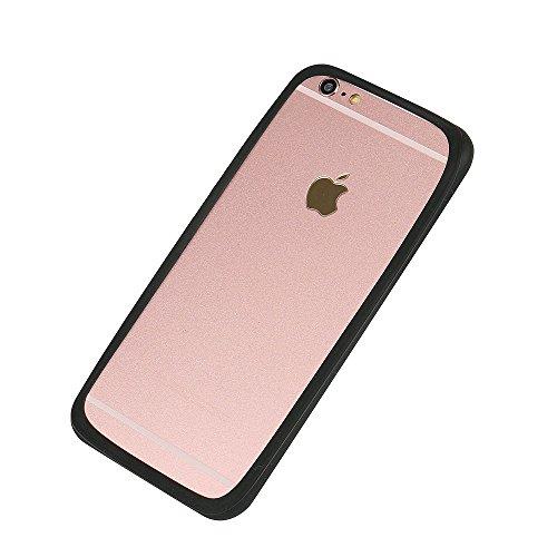 Silikonbumper / Bumper aus TPU für Apple iPhone SE, schwarz | Schutzrahmen Schutzring für Smartphone Case Hülle Schutzhülle - K-S-Trade (TM) (Wir zahlen Steuern in Deutschland!)