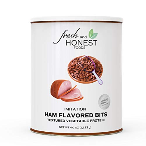 Fresh and Honest Foods Dehydrated Ham Flavored Bits 40 OZ #10 Can