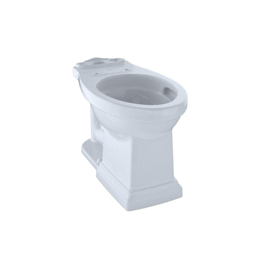 Toto C404CUFG#01 Promenade II Toilet Bowl Unit with CeFiONtect, Cotton by TOTO