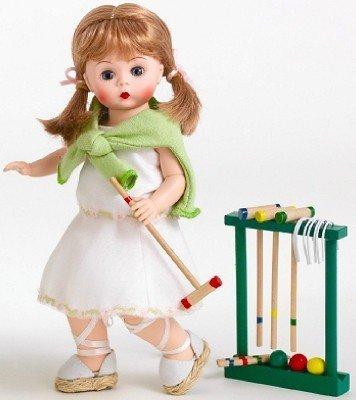 Madame Alexander - Croquet Match Doll by Madame Alexander