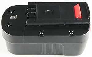 GOLDEN DRAGON« 18V Ni-Cd Battery Designed for BLACK & DECKER CD182K-2, CD18SFRK, Cd182k-2, cd18sfrk, cd18sk-2,CD18SK-2,A18, HPB18, HPB18-OPE