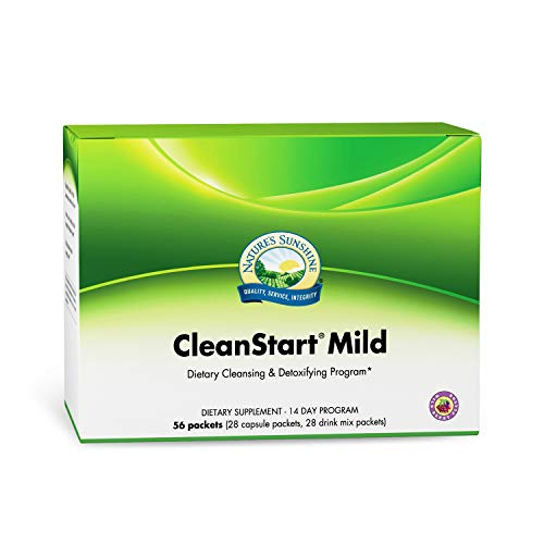 Best Nature's Sunshine CleanStart Mild, 56 Packets, Powerful Herbal Detox That Supports Natural, Everyday Cleansing of Waste from The Body