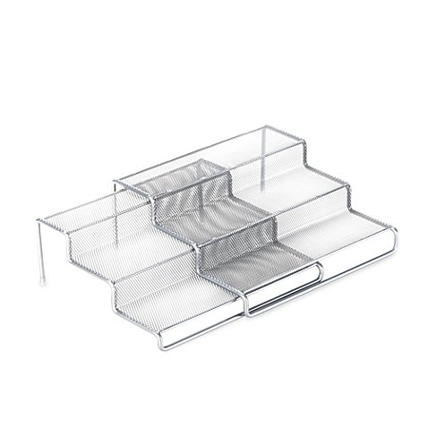 .ORG 3-Tier Expandable Metal Mesh Shelf (1)