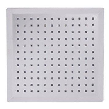 20 cm Soffione doccia a LED con cambio automatico 7 colori Eidoct
