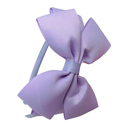 Lovely Boutique Solid Ribbon Hairband Handmade Hair Bows Headband For Children Girls Headwear Hair Accessories -