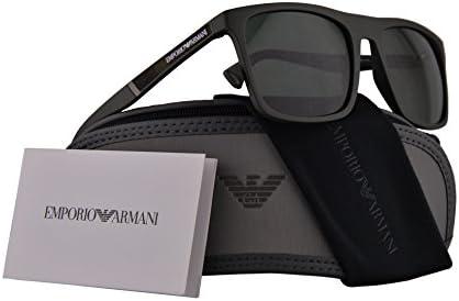Amazon.com: Emporio Armani ea4097 Gafas de sol mate verde ...