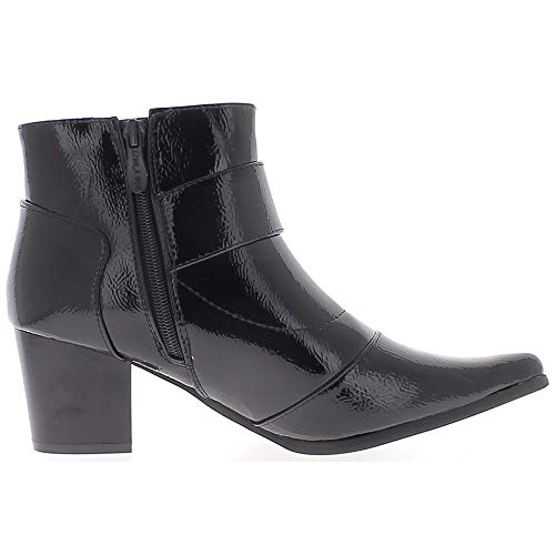 Noires Bottines Vernies Bottines Vernies Noires fourr fourr q6Ed0xBq