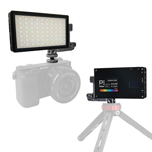 ANDYCINE Vlogger Boling P1 Pocket RGB LED Video Light 2500K-8500K Bi-Color On Camera Video Studio Light with CRI 96+ Built in Battery by ANDYCINE (Image #1)