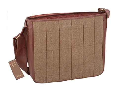 Cougar, Borsa a secchiello donna brown and tweed