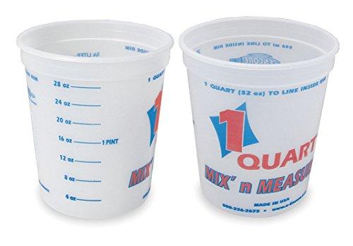 Mix N Measure Container - Paint Mix/Measure Cont., 1 qt., PK24