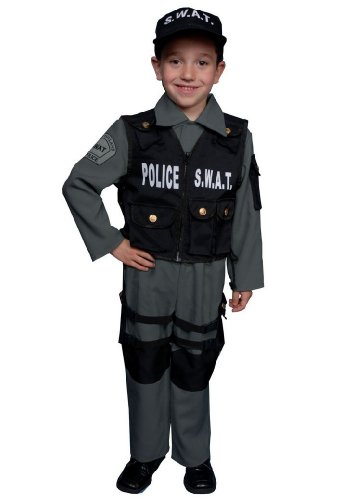 [S.w.a.t. Costume - Child Costume - Large] (Swat Vest Costume)