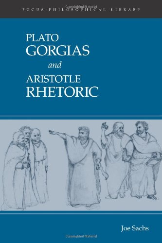 Gorgias and Rhetoric (Focus Philosophical Library)