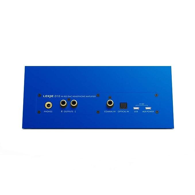 Amazon com: LOXJIE D10 Hi-res DAC Headphone Amplifier ES9038Q2M Mini