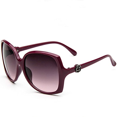 Price comparison product image Z-P New Fashion For Grils Exquisite Reflective UV400 Sunglasses 60MM