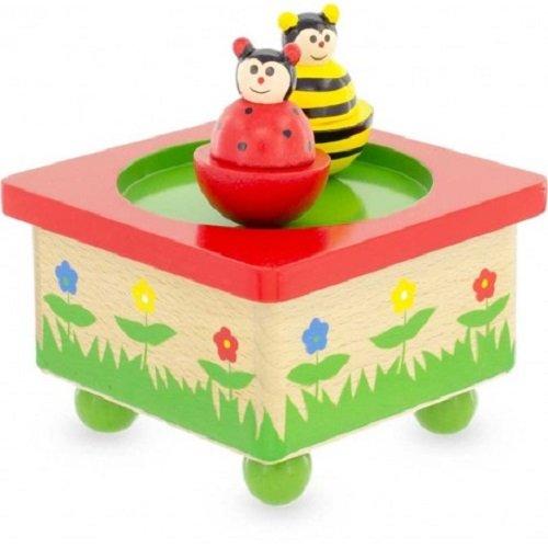 Ulysse Bee Ladybug Music Box by BabyCentre