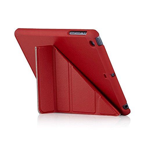 Navy Lamb (Pipetto iPad Mini 1,2,3 Case - 5 in 1 Folding Origami Smart Case Auto Sleep/Wake Function (Compatible with Apple iPad Mini 1, Mini 2 & Mini 3) - Navy Lambskin)