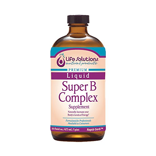 Life Solutions – Liquid Super B-Complex – 16 Oz.