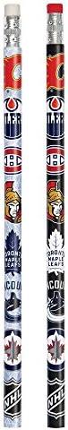 Unique 59400 NHL Hockey Pencils, 8Ct