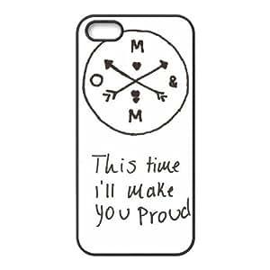 JJZU(R) Design Brand New Phone Case with Of Mice & Men for Iphone 5,5S - JJZU915615