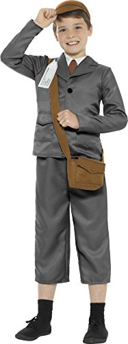 Children's WW2 Evacuee Boy (Evacuee Costume Ww2)