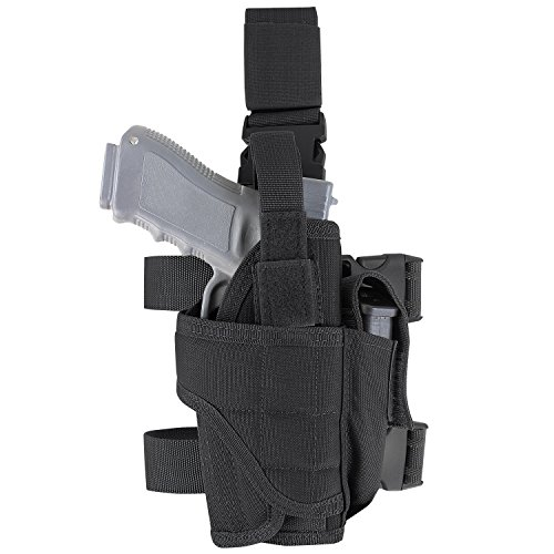 (Condor Tornado Tactical Leg Holster (Black, Fully Adjustable))