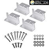 Mighty Max Battery Solar Panel Mounting Z Bracket kit for 10 Watt Solar Panel Brand Product For Sale