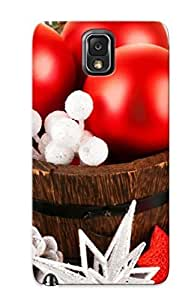 Anti-scratch And Shatterproof Christmas Globes Beautiful Phone Case For Galaxy Note 3/ High Quality Tpu Case