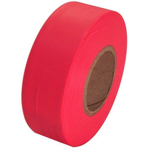 Flaggingテープ1 – 3 / 16 インチ 非粘着プラスチックリボン B0041P7OTK 蛍光ピンク 蛍光ピンク