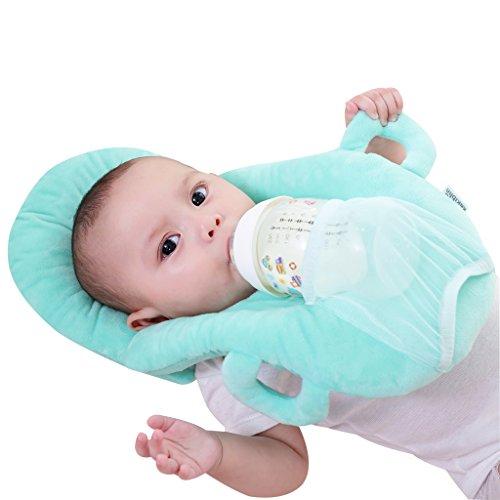 KAKIBLIN Baby Self Feeding/Nursing Pillow Portable Detachable Feeding Pillow(Blue)