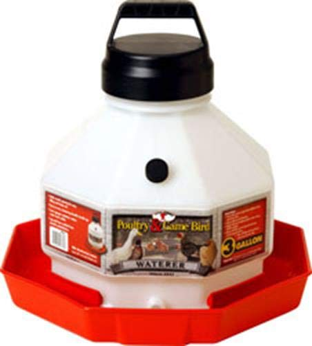 (LITTLE GIANT Miller Manufacturing Plastic Poultry Fountain - 3 gal.)