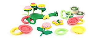 Green Toys Flower Maker Dough Set Activity