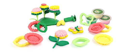 Green Toys Flower Maker Dough Set Activity by Green Toys