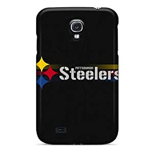 Protector Hard Phone Covers For Samsung Galaxy S4 (BcW12932lcXw) Provide Private Custom Colorful Pittsburgh Steelers Image