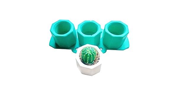 Crewell Molde de Silicona para Cactus, Diseño de Arcilla de Cerámica: Amazon.es: Hogar