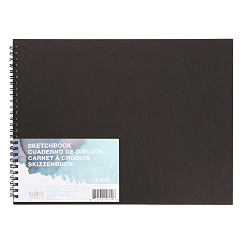 "Copic Markers SKBK9X12 Sketch Book - 9"" X 12"" - 50 Sheets - Wire Bound"