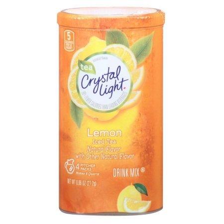 Gluten Emulsifier Free (Crystal Light Lemon Iced Tea Natural Flavor Gluten Free 0.96 Oz. Pk Of 6.)